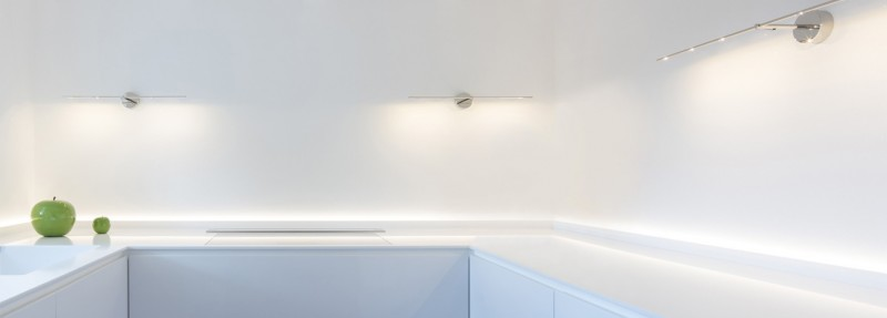 Catellani & Smith Ambient Light Stick CW on Wall Wandleuchte