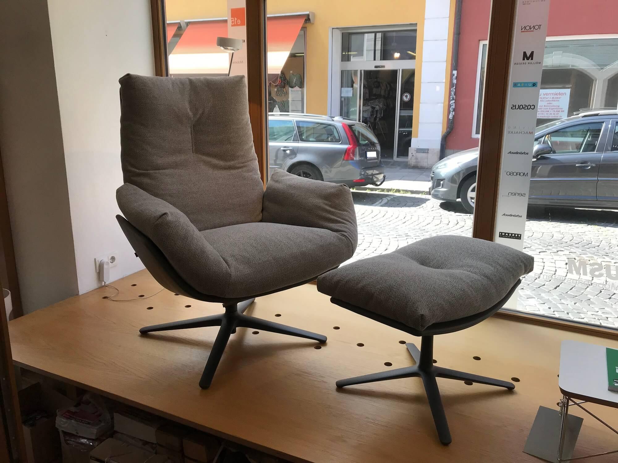 Cordia Lounge Sessel Mit Hocker