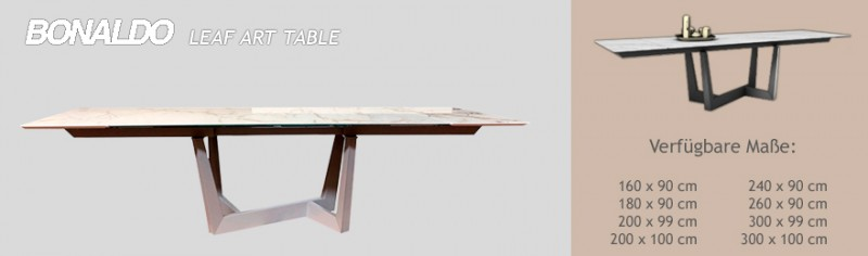 Bonaldo Leaf Art Table