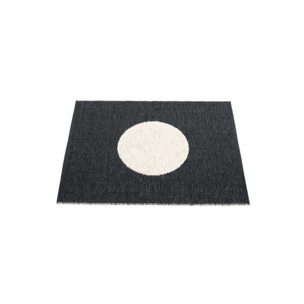 Pappelina Vera Black 70x90 Teppich & Badvorleger schwarz