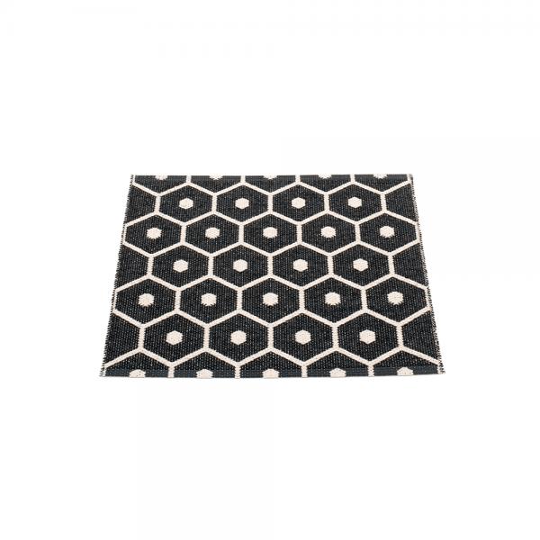 Pappelina Hony Black 70x60 Teppich & Badvorleger schwarz