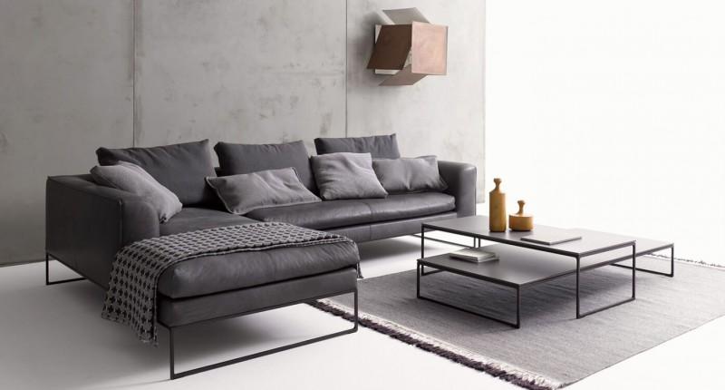 COR Mell Lounge Ledersofa und Designersofa