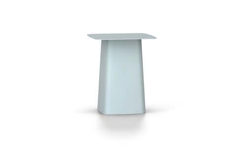 Vitra Metal Side Table Beistelltisch klein eisgrau (outdoorfähig)