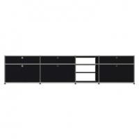 USM Haller Metallmöbel, individuell konfiguriert, B: 275 cm / H: 61 cm / T: 50 cm