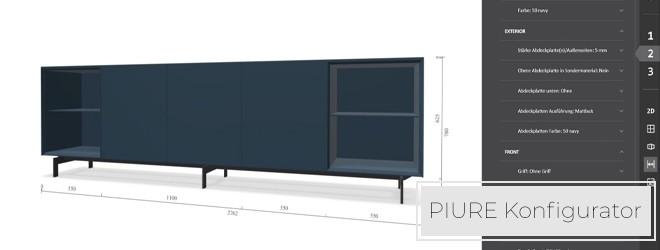 PIURE Konfigurator - Online konfigurieren und kaufen Sie Ihr Wunschmöbel