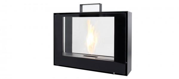 CONMOTO TRAVELMATE Ehtanolkamin Stahl und Glas schwarz