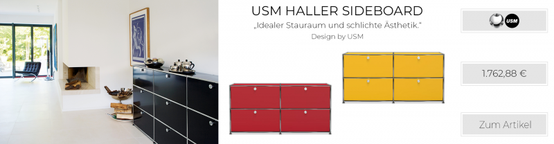 USM Haller Sideboard weiss