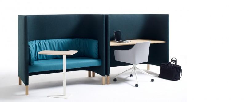 Arco Side by Side Work Schreibtisch und Lounge