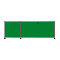 USM Haller Metallmöbel, individuell konfiguriert, B: 110 cm / H: 39 cm / T: 35 cm