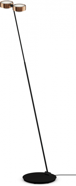 Occhio Sento E LED Terra Air-Steuerung schwarz matt & rose gold