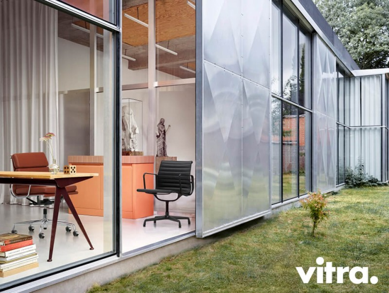 Vitra Aluminium Chair und Soft Pad Chair Upgrade Kampagne