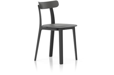 Vitra All Plastic Chair Stuhl graphitgrau