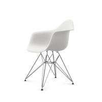 Vitra Eames Plastic Arm Chair DAR (neue Höhe) weiß