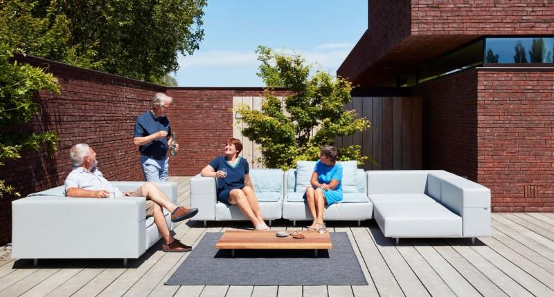 extremis® Walrus Loungemöbel Outdoormöbel Gartenlounge wetterfest