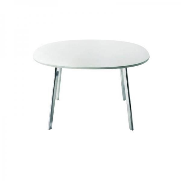 Magis Design Déjà-Vu Table Esstisch MDF & Aluminium 98 x 98 cm weiss