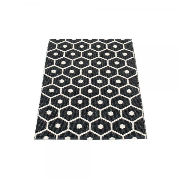 Pappelina Hony Black 70x100 Teppich & Badvorleger schwarz
