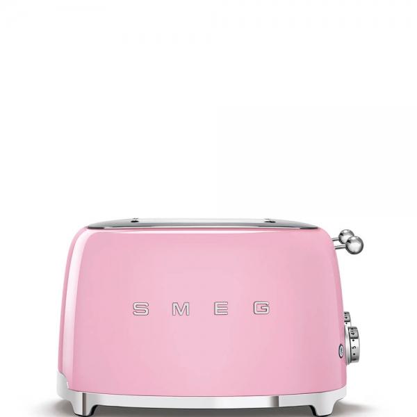 SMEG Retro-Style 4-Scheiben-Toaster TSF03PKEU cadillac pink