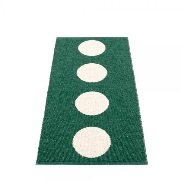 Pappelina Vera Dark Green 70x150cm Teppich & Badvorleger dunkelgr