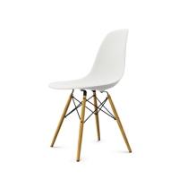 Vitra Eames Plastic Side Chair DSW (neue Höhe) weiß