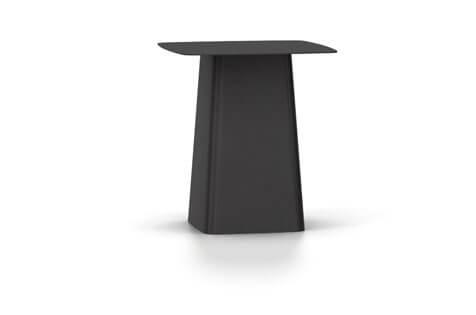 Vitra Metal Side Table Beistelltisch medium schwarz (outdoorfähig)