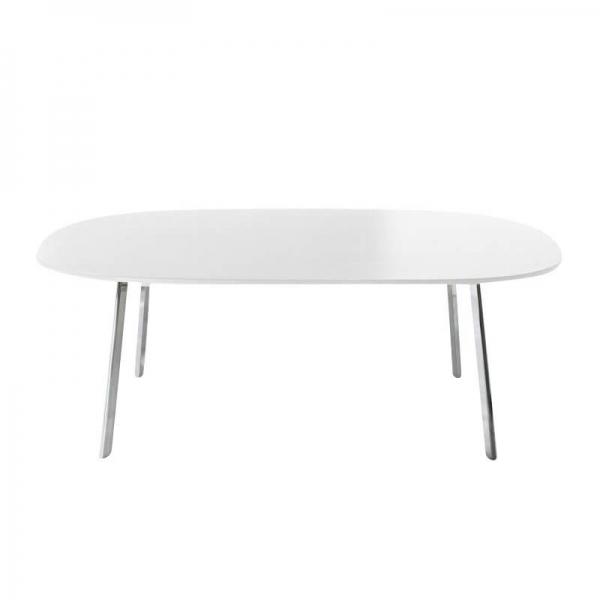 Magis Design Déjà-Vu Table Esstisch MDF & Aluminium 200 x 120 cm weiss