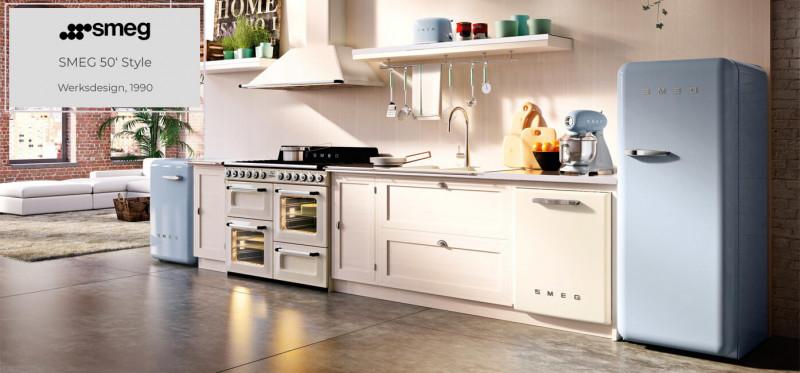 SMEG 50' Style Küchengeräte design by Werksdesign