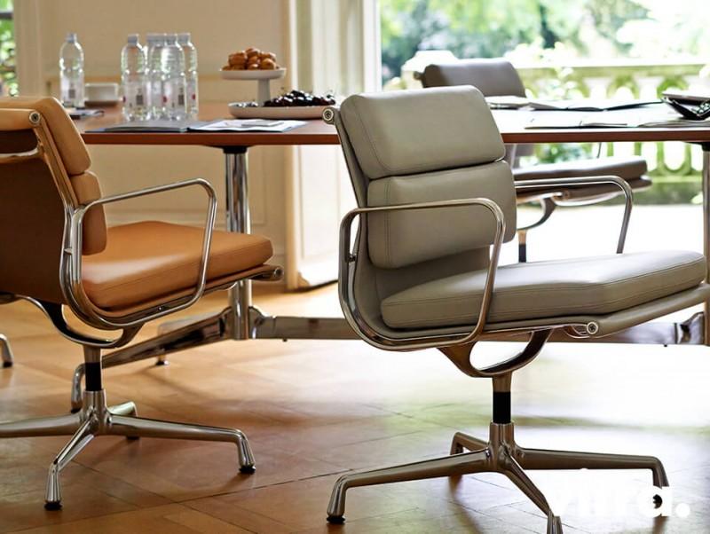 Vitra Aluminium Soft Pad Chair