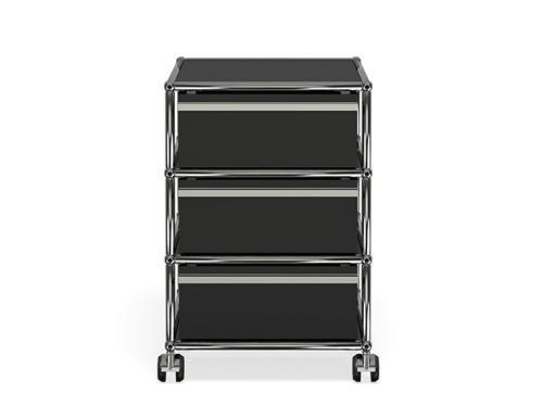 USM Haller Rollcontainer schwarz