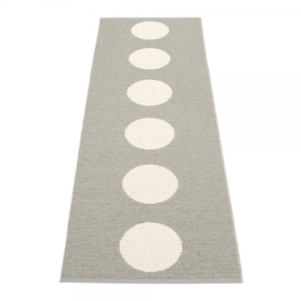 Pappelina Vera Warm Grey 70x225 Teppich & Badvorleger grau