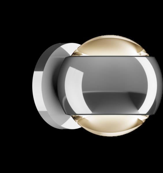 Occhio io verticale Volt D LED Air-Steuerung Wandleuchte chrom