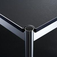 Oberfläche Linoleum schwarz
