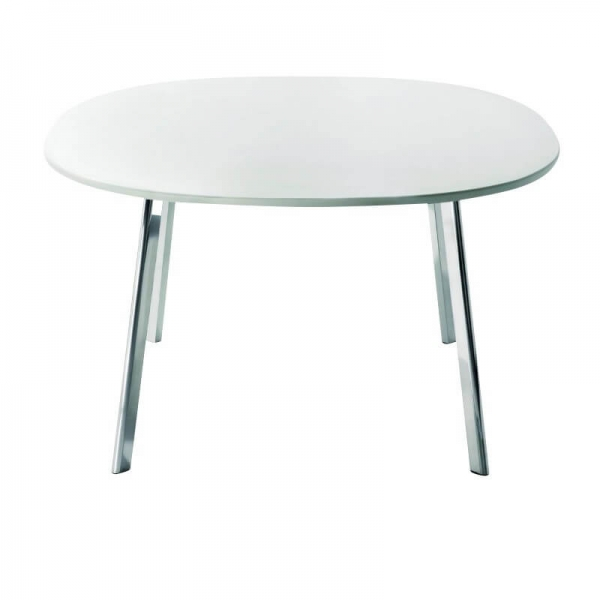 Magis Design Déjà-Vu Table Esstisch MDF & Aluminium 124 x 124 cm weiss