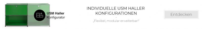Individuelle USM Haller Konfigurationen unserer Kunden