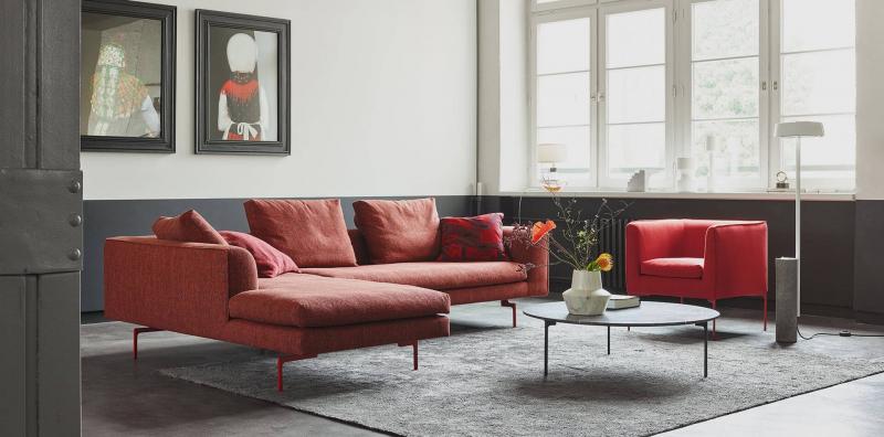 COR Mell Lounge Stoffsofa