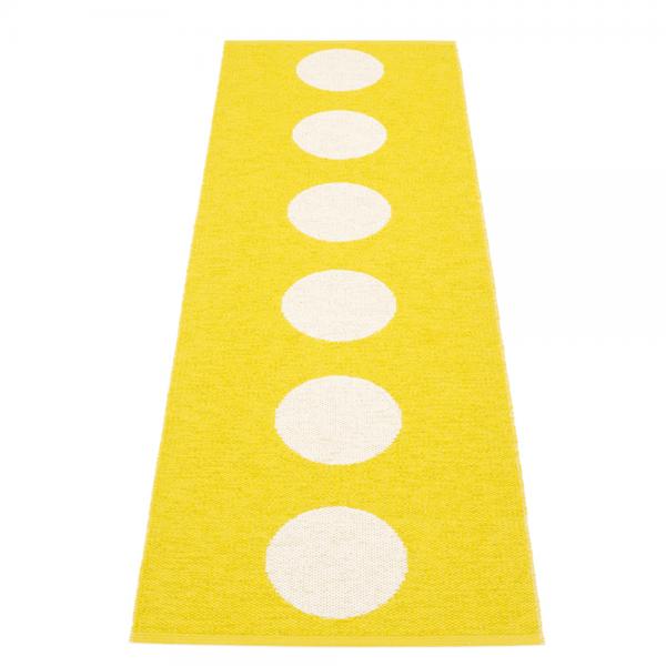 Pappelina Vera Lemon 70x225 Teppich & Badvorleger gelb