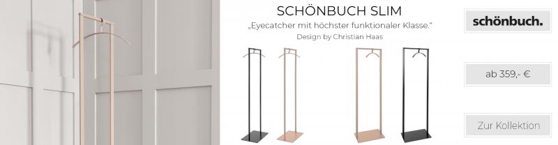 Schönbuch SLIM Garderobenständer pulverbeschichtet