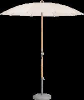 Glatz AG Sonnenschirm ALEXO® Ø 200 cm - 220 cm, 30 kg Betonsockel, Standrohr Stahl verzinkt