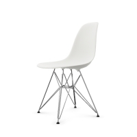 Vitra Eames Plastic Side Chair DSR (neue Höhe) weiß