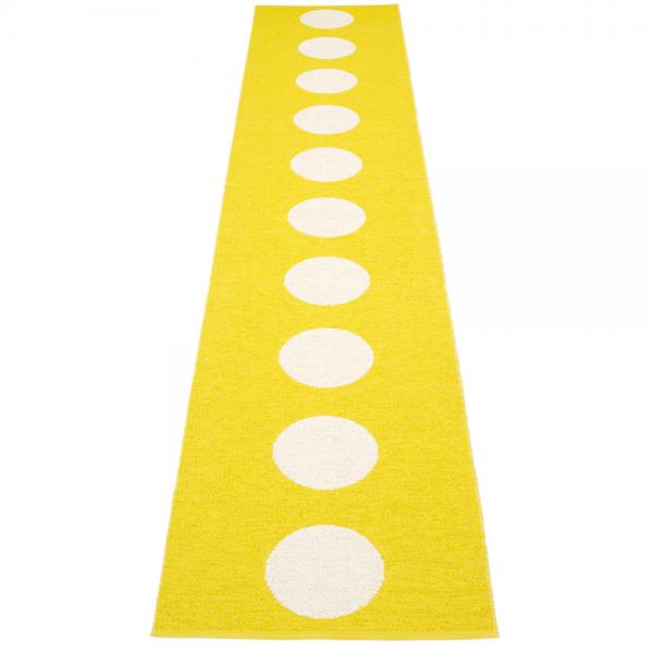 Pappelina Vera Lemon 70x375 Teppich & Badvorleger gelb