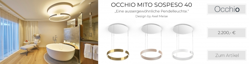 Occhio Mito Sospeso 40 Up Variable Air-Steuerung weiß matt