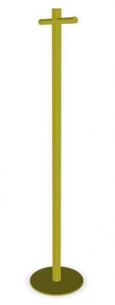 Cascando Pole Garderobenst?nder Stahl, pulverbeschichtet oliv