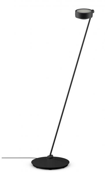 Occhio Sento E LED Lettura 125 Fuß rechts o. links schwarz matt