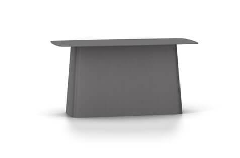 Vitra Metal Side Table Beistelltisch gross dimgrey (outdoorfähig)