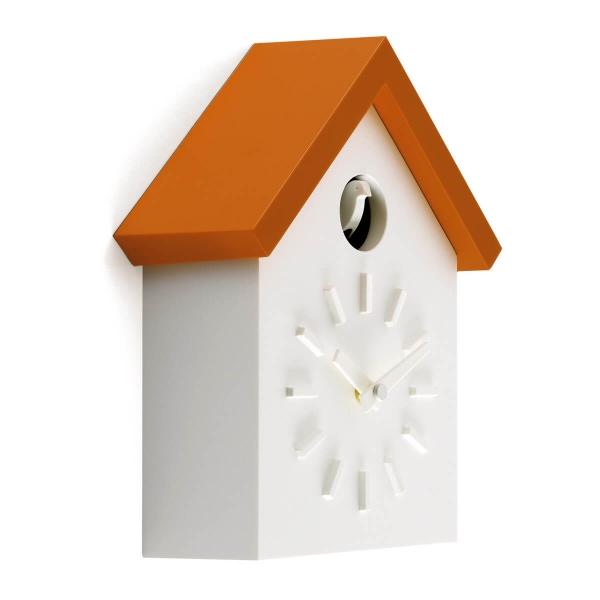 Magis Design Cu-Clock Wanduhr Kuckucksuhr orange