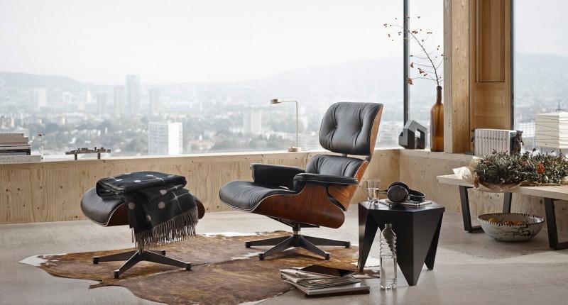 Vitra Lounge Chair und Ottoman