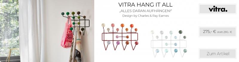 Vitra Eames Hang it all Garderobe