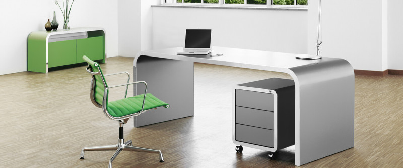 Müller Möbelfabrikation Highline Büromöbel Home Office oder Chefbüro