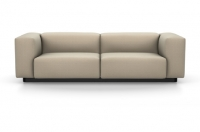 Vitra Soft Modular Sofa Zweisitzer Stoff Iroko 2 sand