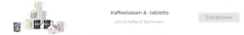 Kaffeetassen & -tabletts entdecken