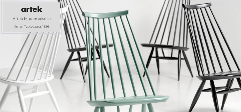Artek Mademoiselle Lounge Chair finnisches Design